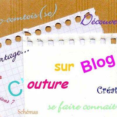 Couture sur blog