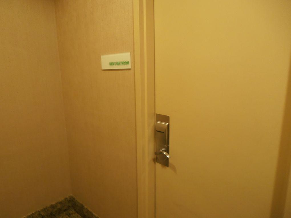 Dans notre hôtel toutes les portes (garage, chambre, WC, ascenseur...) ne s'ouvraient qu'avec une seule clé : une carte magnétique. Pratique, si on ne la perd pas !