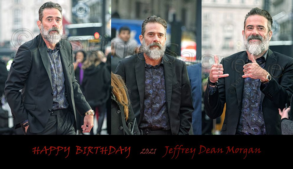 BON ANNIVERSAIRE Jeffrey Dean Morgan ! Negan : So, you kill the right people at the right time...everything falls into place. Everybody's happy. Well, some people more than others. But you kill one, and you could be saving hundreds more.