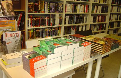 Photos : Caza & Wintrebert à la librairie (Octobre 2009)