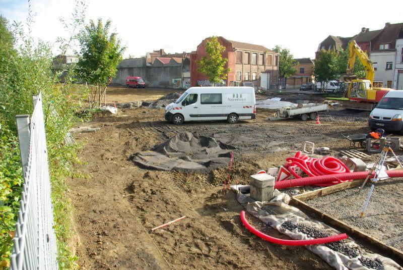 Le futur parc Brondeloire...
