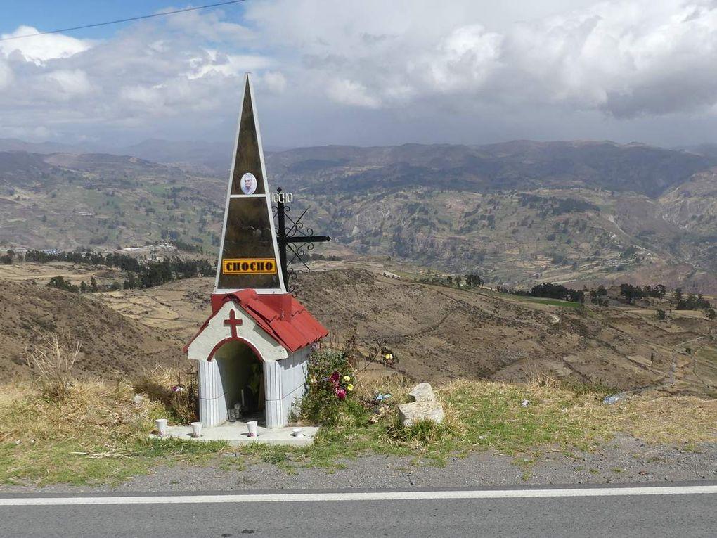 La traversée des Andes jusqu'à Nazca.