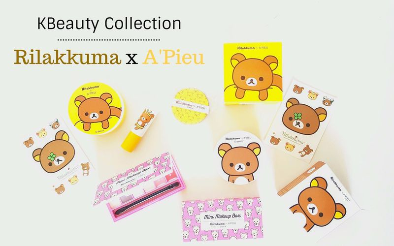 Kawaii Makeup - Collection Rilakkuma x A'Pieu