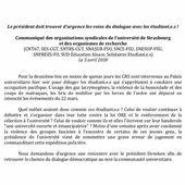 Violences policières à Strasbourg : un pouvoir inquiet tenté par l'extension de la répression ! - Front Syndical de Classe