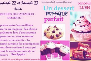 Very Girly Cookies gagnants du concours Lush Clermont-Fd !