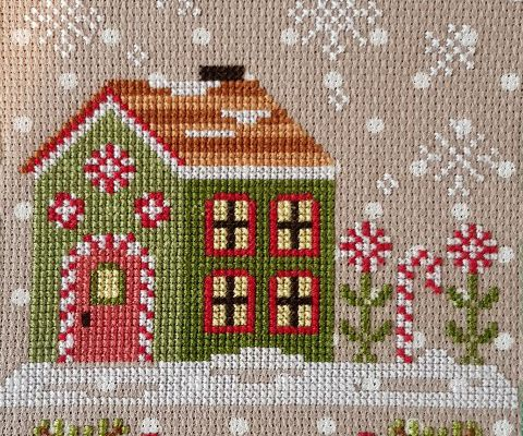 Santa's Village de Country Cottage Needelworks - 2