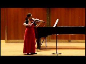 nicole leon, une violoniste vénézuélienne remarquée aussi bien qu'en soliste et musique de chambre