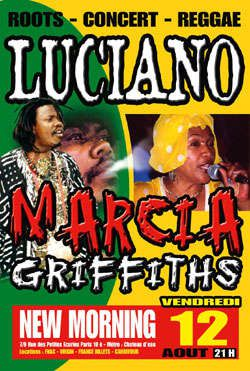 Album - flyers reggae aout
