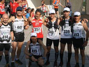 Ecomaratona delle Madonie 2015 (8^ ed.). Lacrime di gioia dai vincitori Giuseppe Cuttaia e Maria Concetta Pontillo