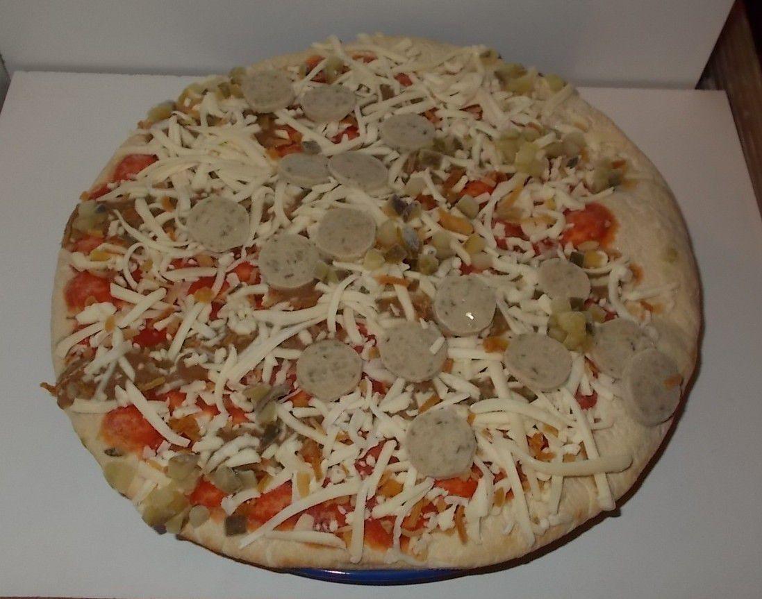 [Lidl] Alpenfest Steinofen Pizza mit Weißwurst