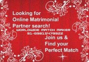 CHRISTIAN MATRIMONIAL 91-09815479922