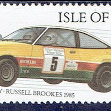 Russell Brokkes, pilote automobile de rallyes