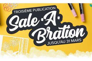 Troisième Brochure Sale-a-bration !