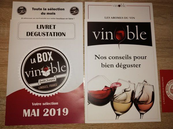 découverte de la Box Gourmande Vinoble @ Tests et Bons Plans
