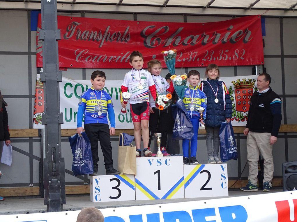 Championnat 28 des écoles, les titres pour Noam, Manon, Victoire, des podiums et le prix d'équipe pour le Dreux CC
