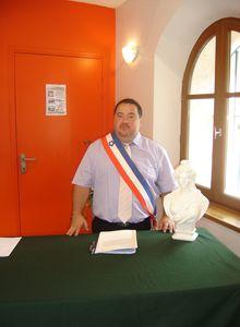 Les maires ruraux du département à Barrême