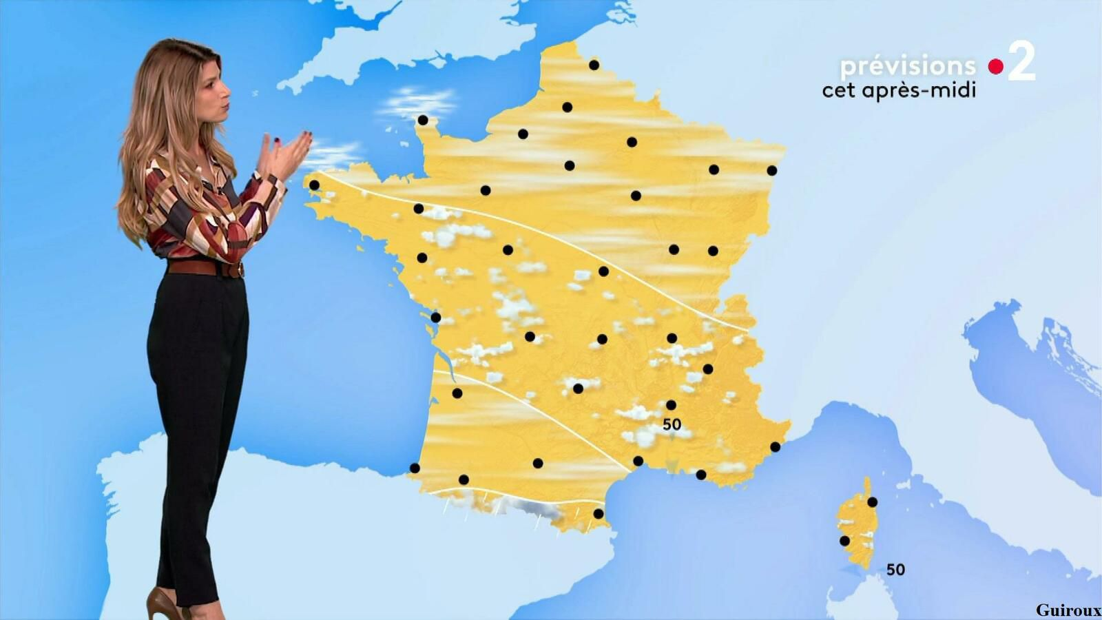 Chloé Nabédian 22/09/2021 Journaux météo du midi