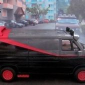 THE A TEAM VAN GMC VANTURA AGENCE TOUS RISQUES SERIE TV HOT WHEELS 1/50 - car-collector