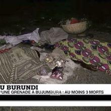 Crise au Burundi : Explosion de grenades à Bujumbura
