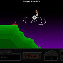 Pocket Tanks: Ultimate Face To Face Weapons Video Game