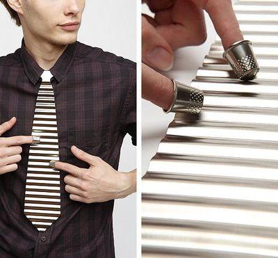 La cravate de musicien... ou pas.