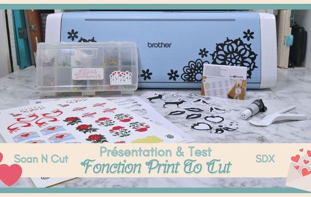 """Présentation & Test : Fonction """"Print To Cut""""..."""