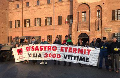 Procès Eternit bis en Italie : les audiences préliminaires ont commencé.