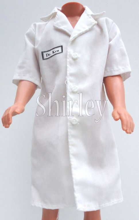 """DOCTOR"" KEN DOLL CLOTHES 1997 MATTEL #18898"