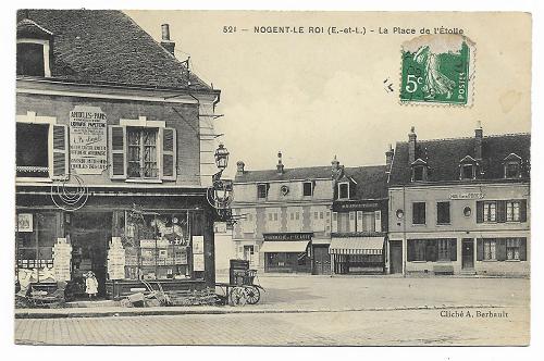 La Libération de Nogent-le-Roi vue par Mme Marie-Françoise Lagente