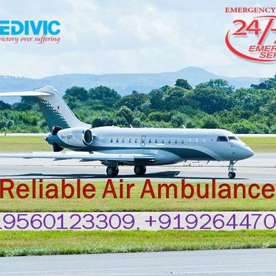 Medivic Aviation Air Ambulance in Mumbai; - Affordable and Best Emergencies Service