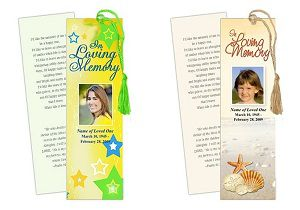 Personalized Memorial Bookmarks, a Thoughtful Gift