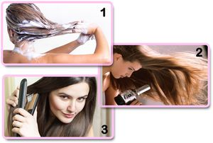 How to use Hair Straighteners on virgin hair extensions