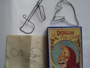 le dragon et son casque, l'embarras du charpentier