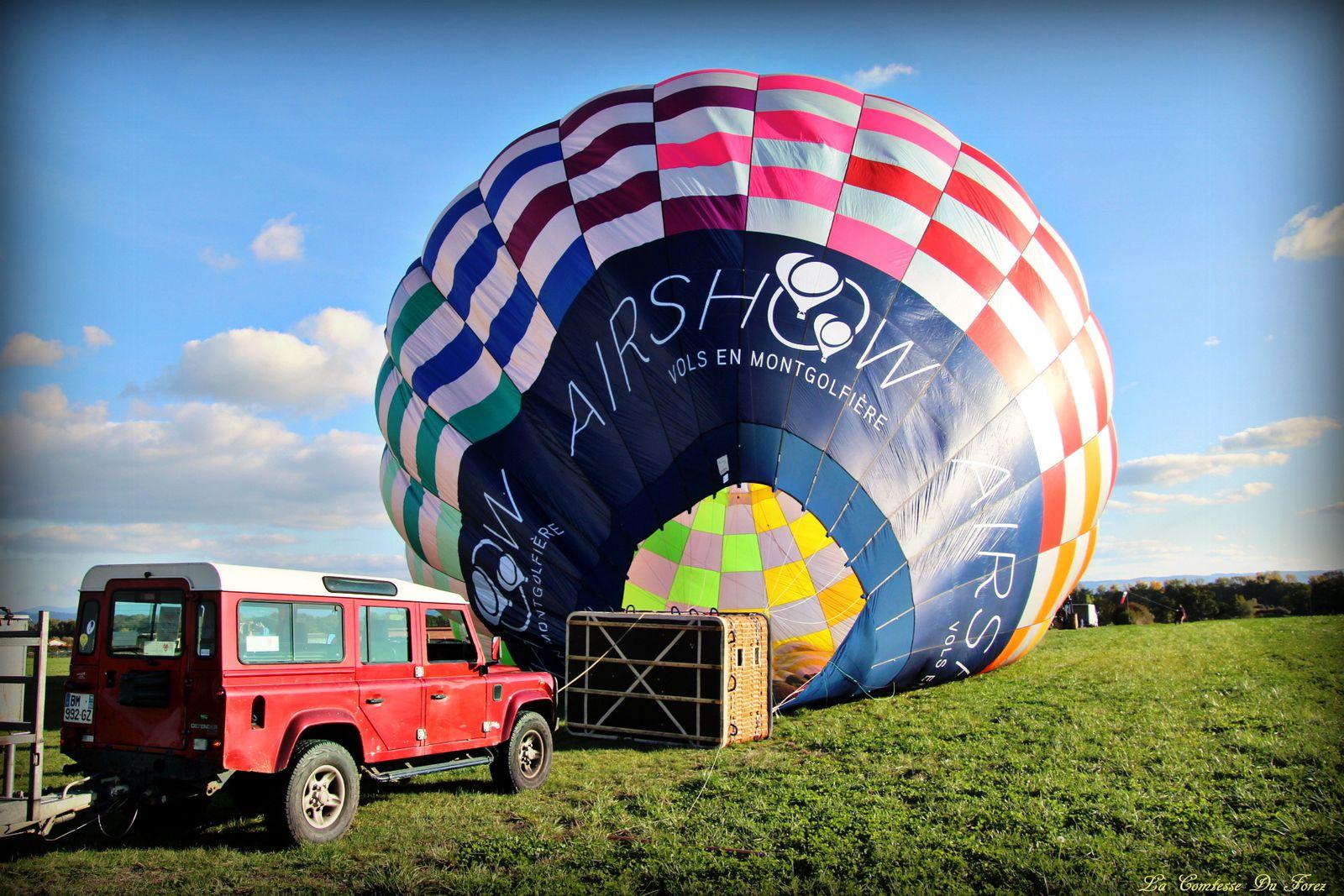 Vol en montgolfière avec Airshow (Loire, 42)