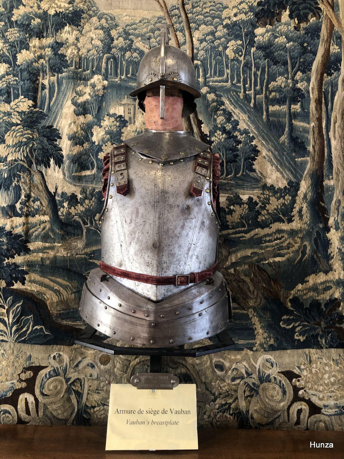 Château de Bazoches, armure de Vauban