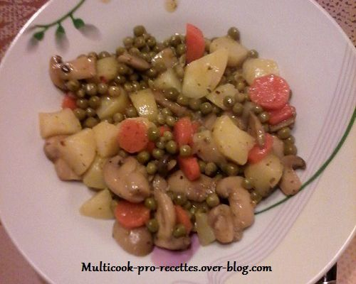 Mix de légumes