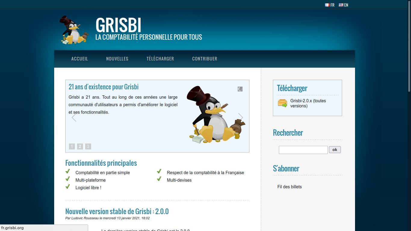 GRISBI : L'autre logiciel de comptabilité personnelle !