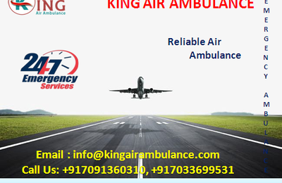 The Medical Advantages of Air Ambulance Service in Patna: King