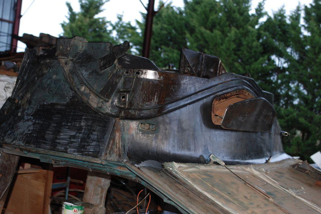 démarreur, boggies mopdéle allemand, cabine sur le dos