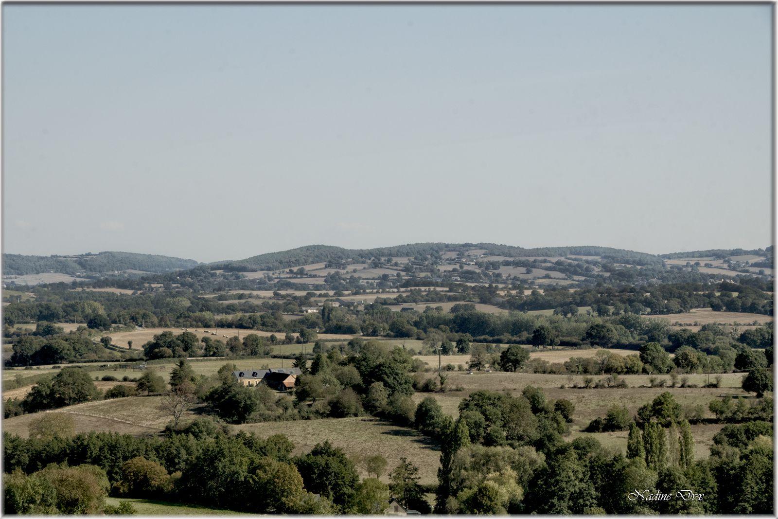 Cité médiévale de Sainte-Suzanne - Le vieux donjon - Mayenne