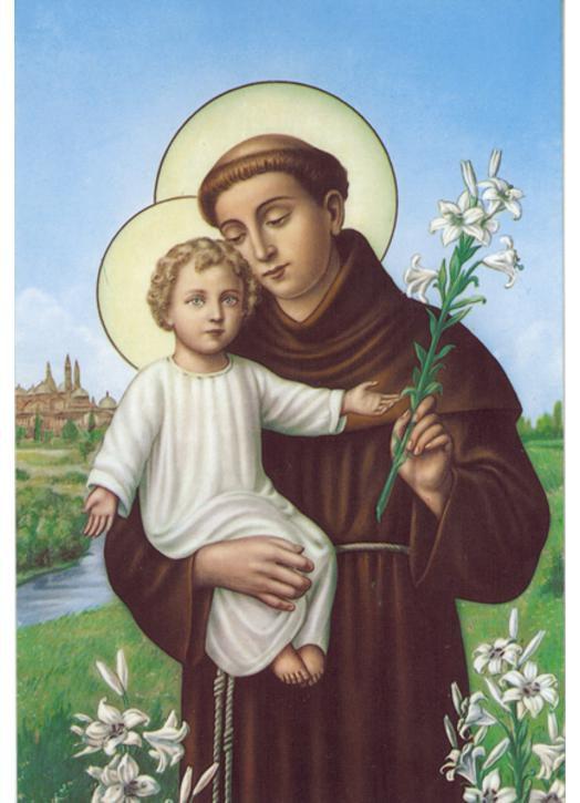 Neuvaine à saint Antoine de Padoue - Du 5 au 13 juin - Fête de saint Antoine