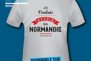 T-shirt France - Basse et Haute Normandie - Revoir ma normandie
