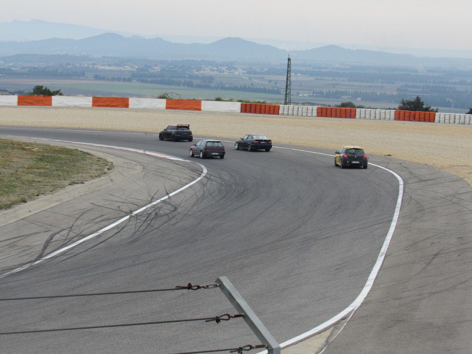 journée roulage libres autos et motos circuit lédenon 14-02-2021