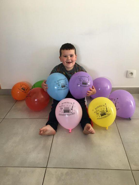 Lou et Basile ont eu 5 ans. Timéo a fêté ses 6 ans ! Et Margaux a fêté ses 6 ans le 29 avril. Joyeux anniversaire à tous !