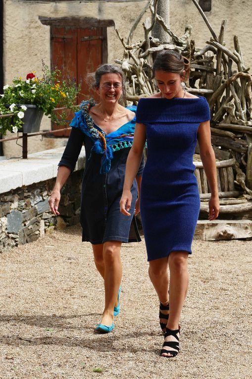 Abella et Joëlle photos R.Levaché