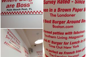 RESTAURANTS À LONDRES: FIVE GUYS