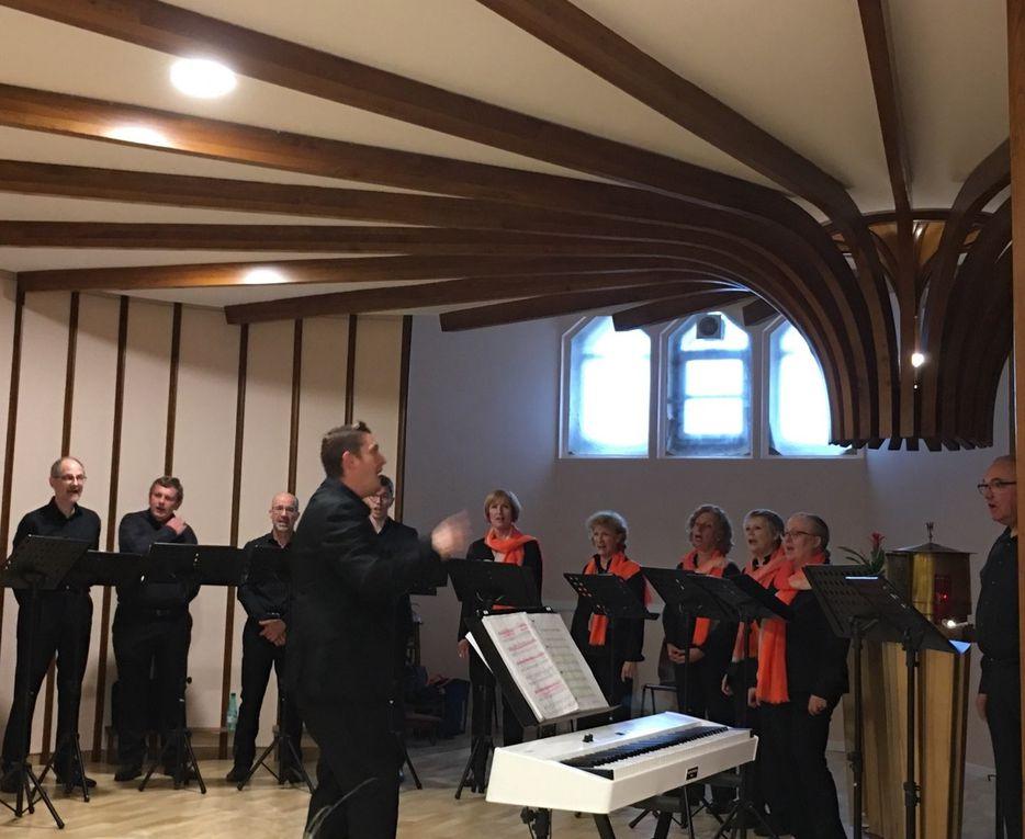 concert du 22 juin, crypte de l'église Ste Jeanne d'Arc de Montigny-les-Metz