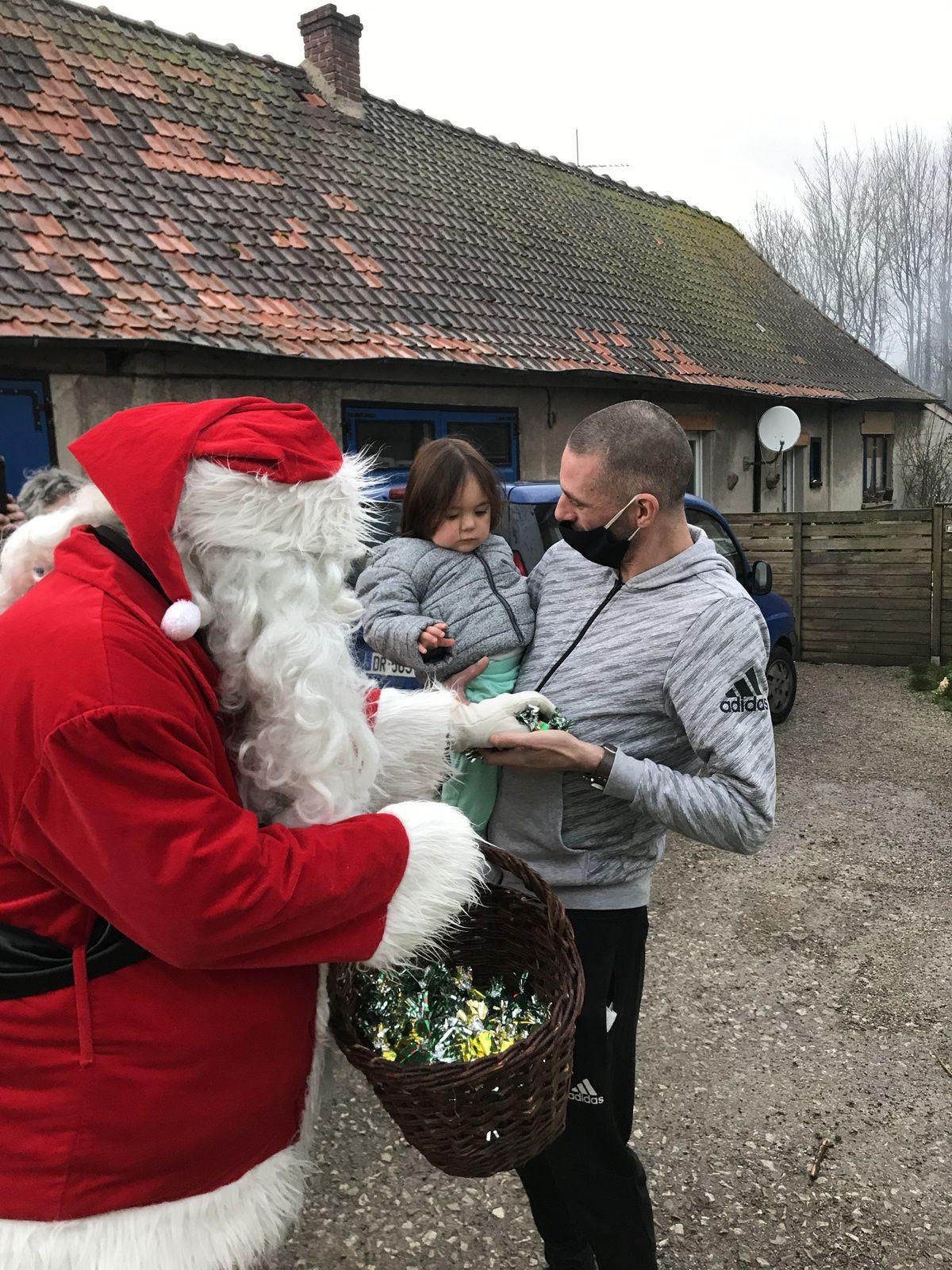 Ballade du Père Noël 2020.