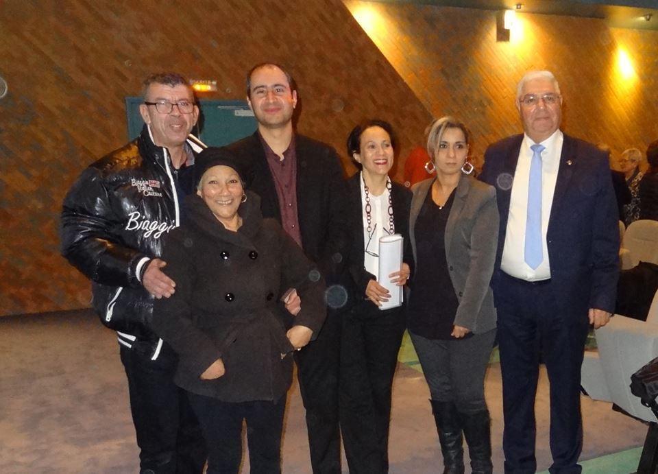 Samedi 04 Février 2017 conférence débat camps de Rivesaltes à Hendaye (64)