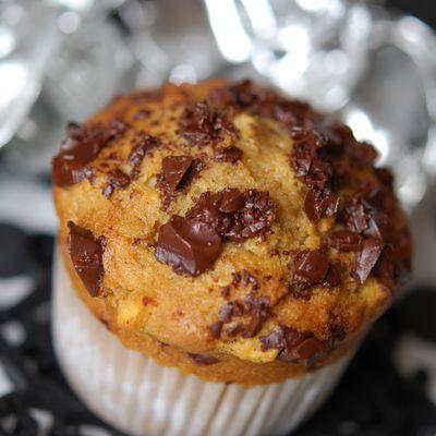 Muffins pomme et chocolat